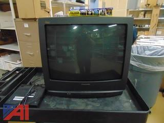 1998 Panasonic 25 inch TV w/ built in VCR
