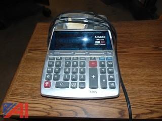 (2) Cannon Calculators w/ Receipt