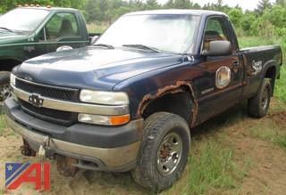 2002 Chevy Silverado 2500HD Pickup