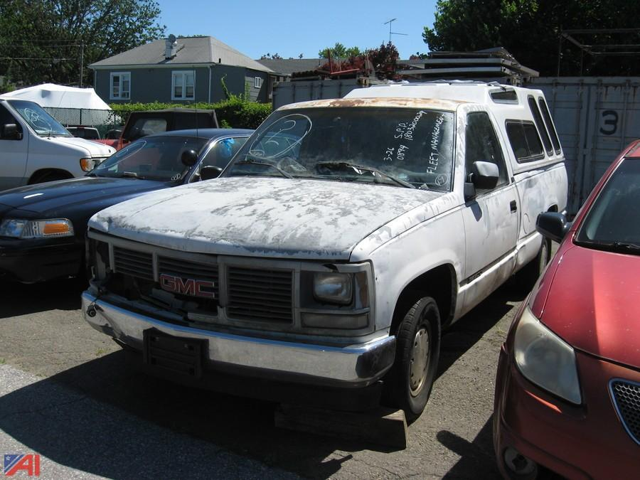 auctions international auction city of stamford av auction 19 ct 14526 item 1992 gmc sierra ck 1500 pickup with cap auctions international