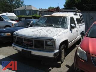 1992 GMC Sierra CK 1500 Pickup with Cap