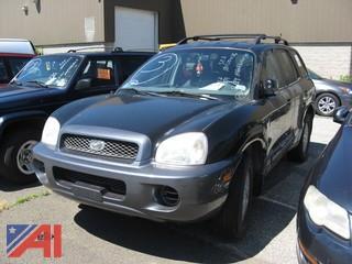 2003 Hyundai Sante Fe SUV