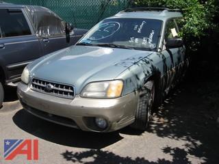 2003 Subaru Outback 4 Doro