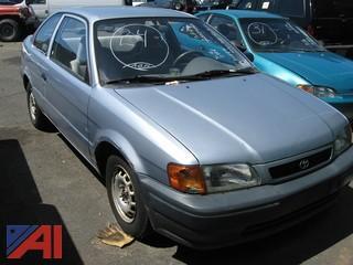 1996 Toyota Tercel 2 Door