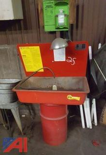 Parts Washing Unit & Barrels