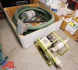 Pramac MP-56-3 Trash Pump And Hose