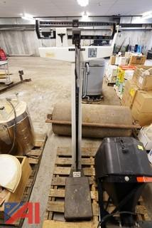 Duncan #EA-820 Kiln/Supplies & Scale