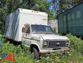 1988 Ford Clubwagon Cube Van