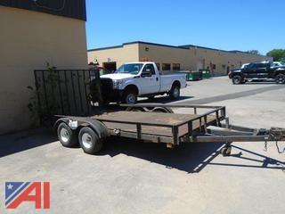 1992 Nomanco Double Axle Trailer