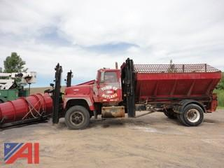1995 Ford L9000 Cab & Chassis with Plow and Wing (No Sander)