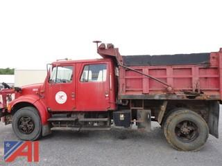 1991 International 4900 Dump Truck with Plow