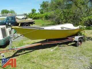 1981 Shipmaster Trailer w/ Boat