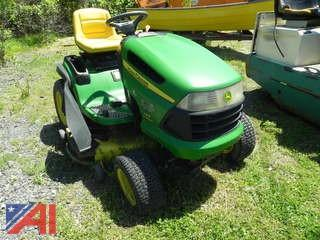 John Deere 145 Automatic Riding Mower