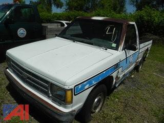 1989 Chevrolet S10 Pickup