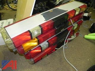 (5) Whelen Police Strobe Lightbars