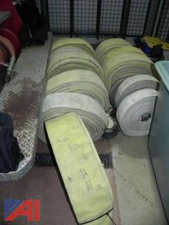 (14) Rolls of Various Length & Size Fire Hose