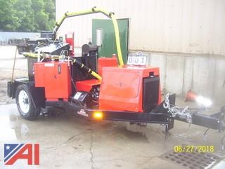 2009 Cimline Matrix 150 Crack Seal Trailer