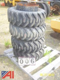 (4) Trackless Tires