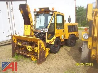 1996 Trackless MT5 Tractor with Blower