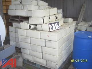 (5) Pallets of Cimline Bricks