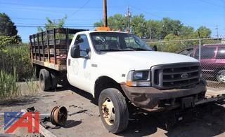 2003 Ford F550 Super Duty Stake Rack Truck