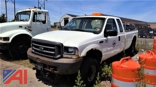 2003 Ford F250 XL Super Duty Pickup Truck (PARTS ONLY! )