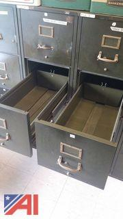 (10) Four Drawer Fire File Cabinets