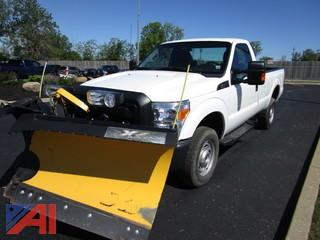 **5% BP** 2015 Ford F250 Pickup with Plow