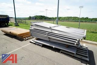 Aluminum Pole Vault Pit Platforms