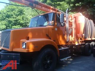 2001 Volvo WG Sewer Catch Basin Cleaning Body Truck
