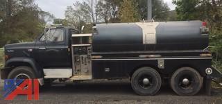 1986 GMC C7D064 Tanker