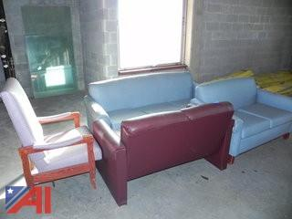Assortment of Couches, Chairs and Loveseats