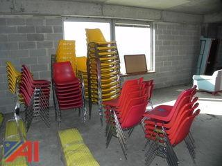 (25) Stackable Chairs
