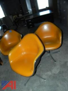 (4) Vintage Herman Miller Chairs