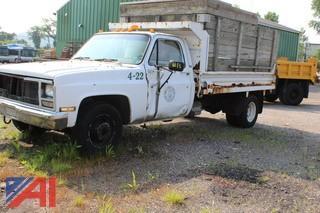 1989 Chevrolet Dump