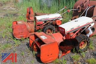 (2) Gravely 5460 Snow Blowers