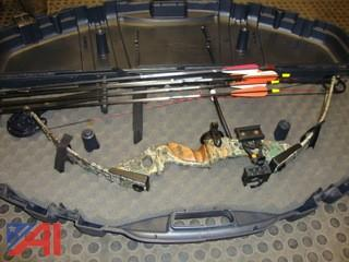 #1402 PSC Archery Compound Bow and Arrows