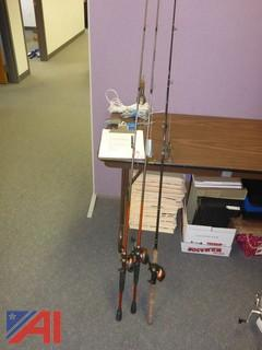 #1411 (3) Fishing Poles - Bill Dance and Bass Pro