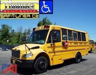2010 Thomas Built C2 Saf-T-Liner Wheelhair School Bus #132