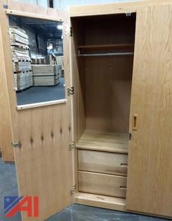(8) Wall Lockers