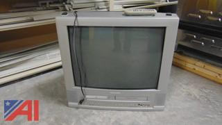 Magnavox TV with Built in DVD/VCR