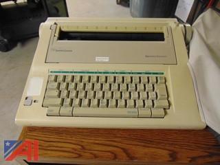 Smith Corona Typewriter w/ Cover
