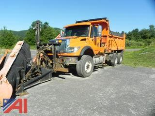 2003 International 7600 Dump w/ Plow & Wing