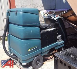 EZ Rider Floor Scrubber Machine