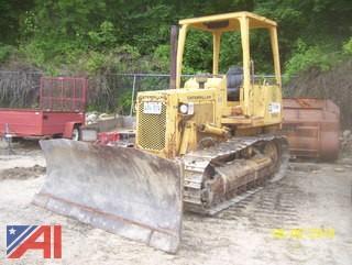1987 CAT D3B-75 Bulldozer
