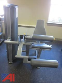Leg Extension/Leg Curl Exercise Machine