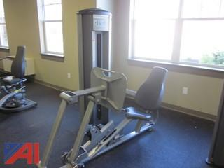Leg Press Exercise Machine