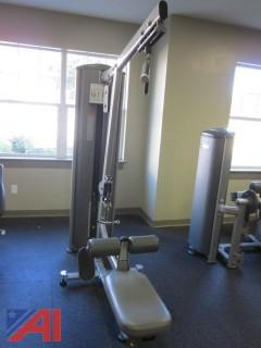 Lat Pulldown/Seated Row Exercise Machine