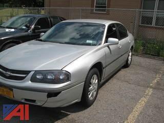 2001 Chevrolet Impala 4 Door