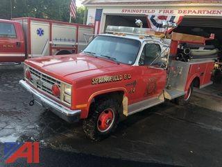 1986 Chevrolet Custom Deluxe 30 Pumper Truck